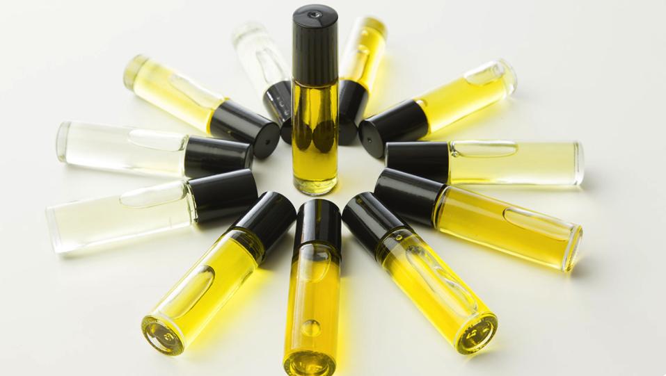 Essential oil cologne