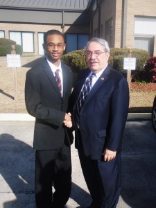 Chris and Congressman G.K. Butterfield