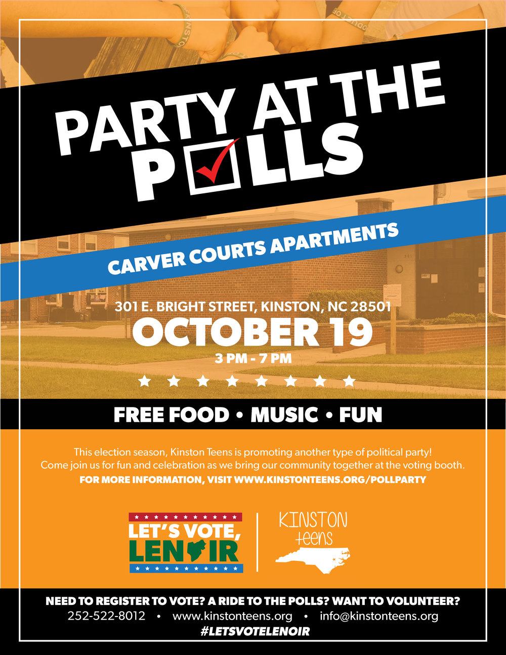 Party at the Polls October 19