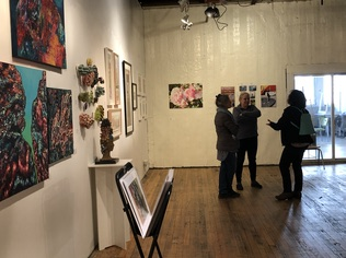 The artsPSWT Spring Show at Ossam Gallery