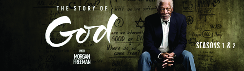 A six-part television documentary series featuring actor Morgan Freeman who explores various cultures and religions, and their take on religion-related topics, particularly about their belief in a God or a higher power.  Part 2 - Part 2 of the NatGeo Emmy-nominated series.  A six-part television documentary series featuring actor Morgan Freeman who explores various cultures and religions, and their take on religion-related topics, particularly about their belief in a God or a higher power.
