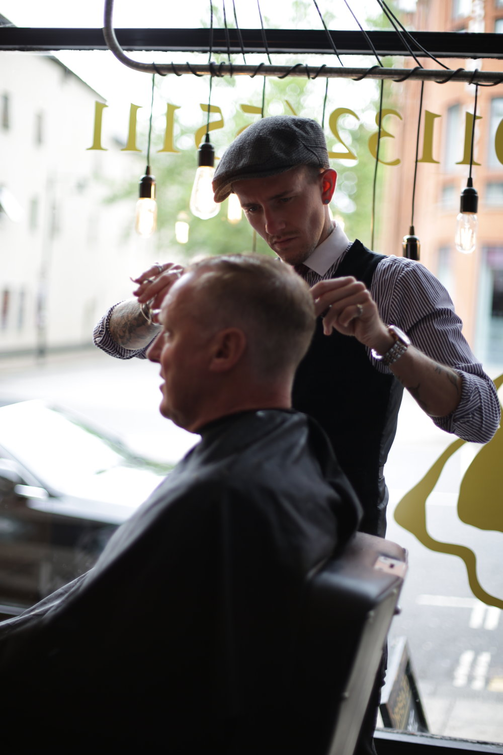 Michael tominay - Owner and senior barber.