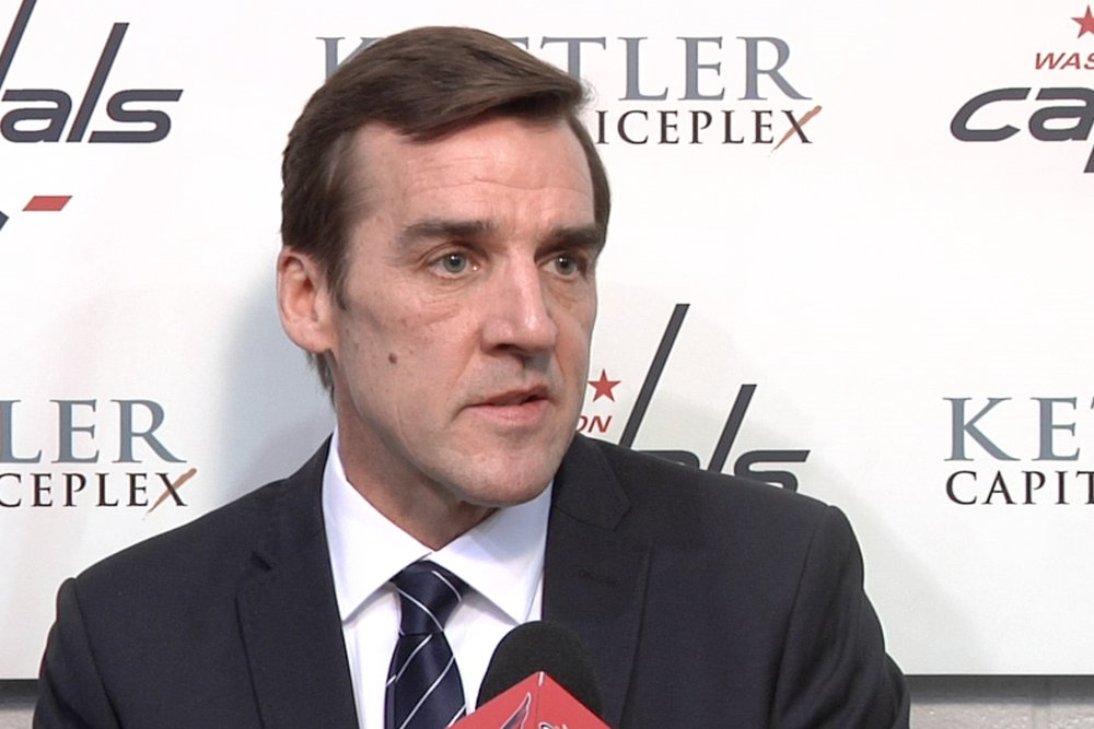 George McPhee - Current General Manager of the Las Vegas Knights