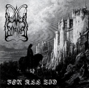 "For their first album, the band Dimmu Borgir used the artwork taken from Gustave Doré's illustration of for the poetry book ""Idylls of the King"" by Alfred Tennyson."