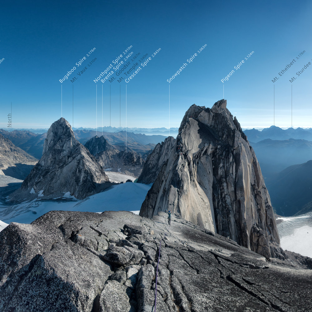 Canada - The Bugaboos, Canadian Rockies, and Purcell Wilderness