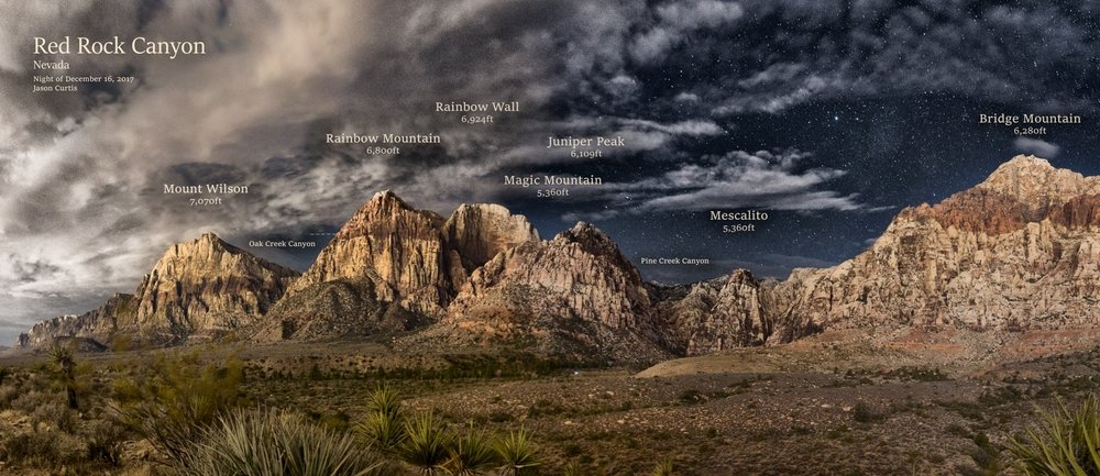 Red Rock Canyon - Panoramas & Photography