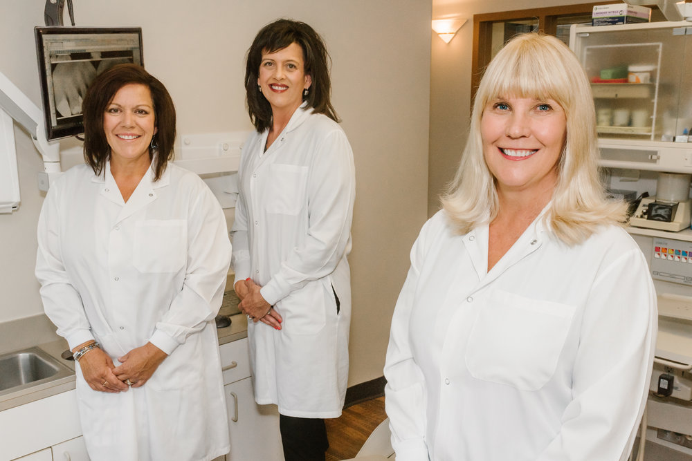"""- Our mission is to provide the highest standard of care in a comfortable and caring environment. Dr. Laudert and her staff strive to be knowledgeable and continue to receive education through outside classes and programs. This is important to us so that we can continue with the best care and techniques available. We understand what it """"feels"""" like to be a patient receiving dental work. This experience helps us to be more gentle and friendly so that you can have the best visits possible. We treat all our patients as if they were our family. We are pleased that you have chosen to be a part of our team."""