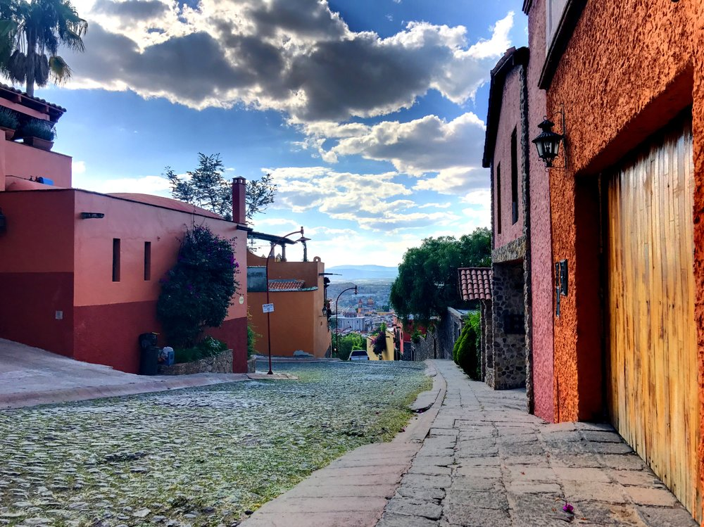 A view from the hills surrounding San Miguel de Allende.