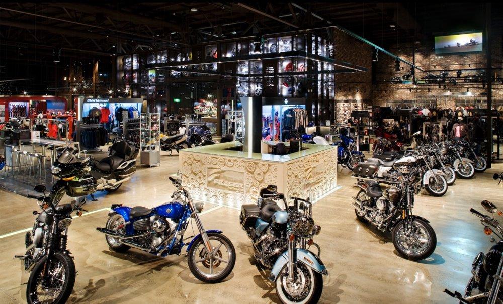 FRASER MOTORCYCLES SHOOWROOM