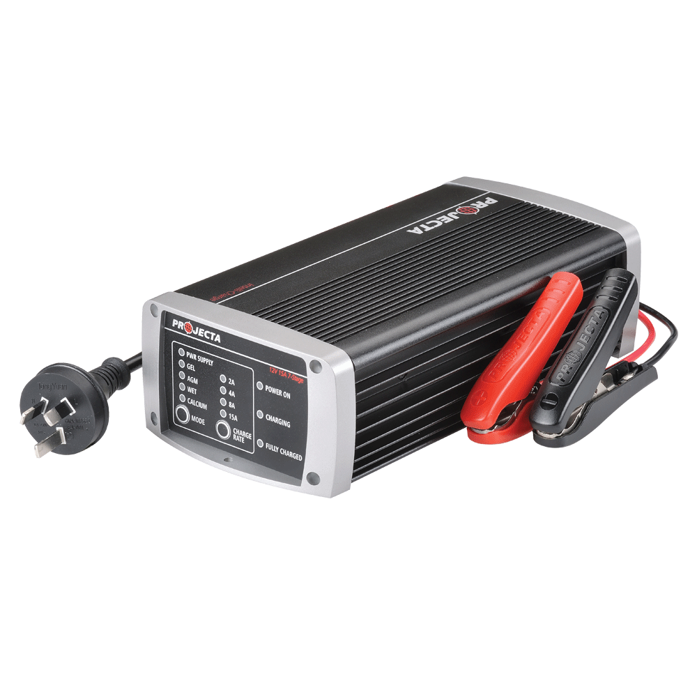 12v Automatic 15a 7 Stage Battery Charger Projecta Intelli Power Converter Wiring Diagram