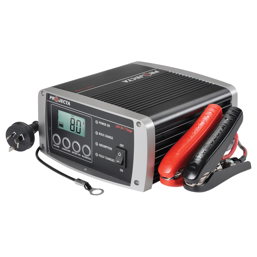 Battery Chargers Projecta 24v 7ah Lead Acid Charger Automatic 8a 7 Stage