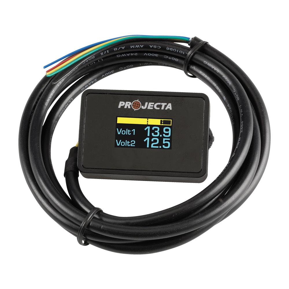 12/24V Dual Battery Volt Meter — Projecta
