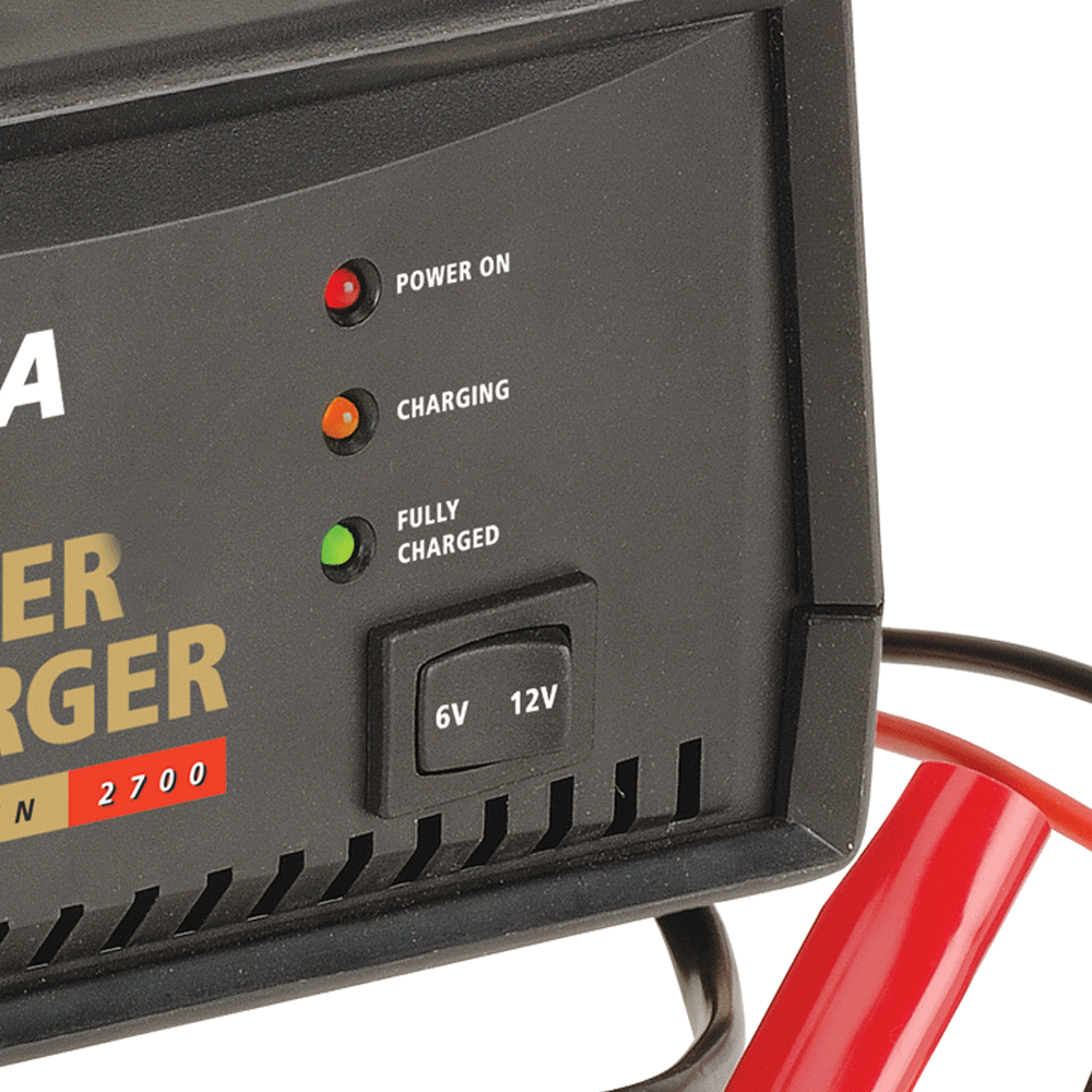 6/12V Automatic 2700mA 2 Stage Battery Charger — Projecta on