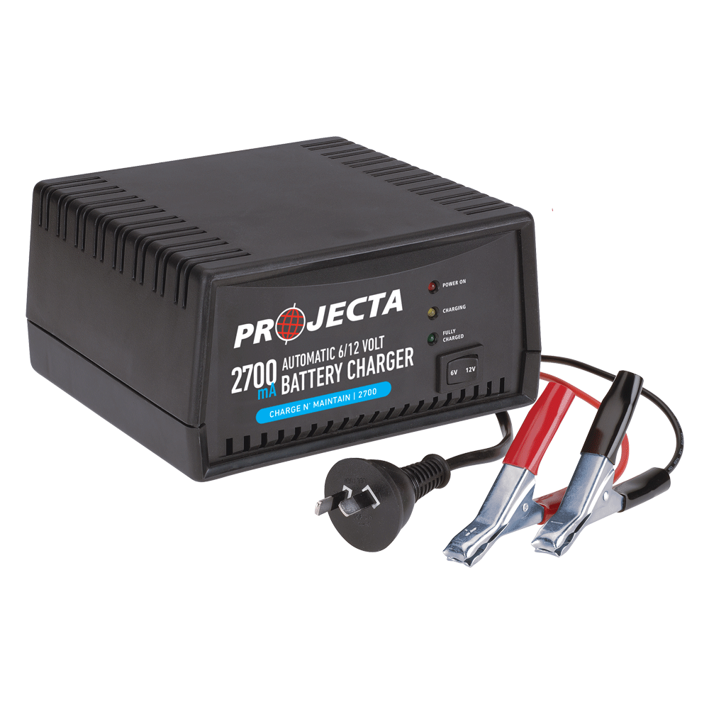 Battery Chargers Projecta Charger For All Types 6 12v Automatic 2700ma 2 Stage