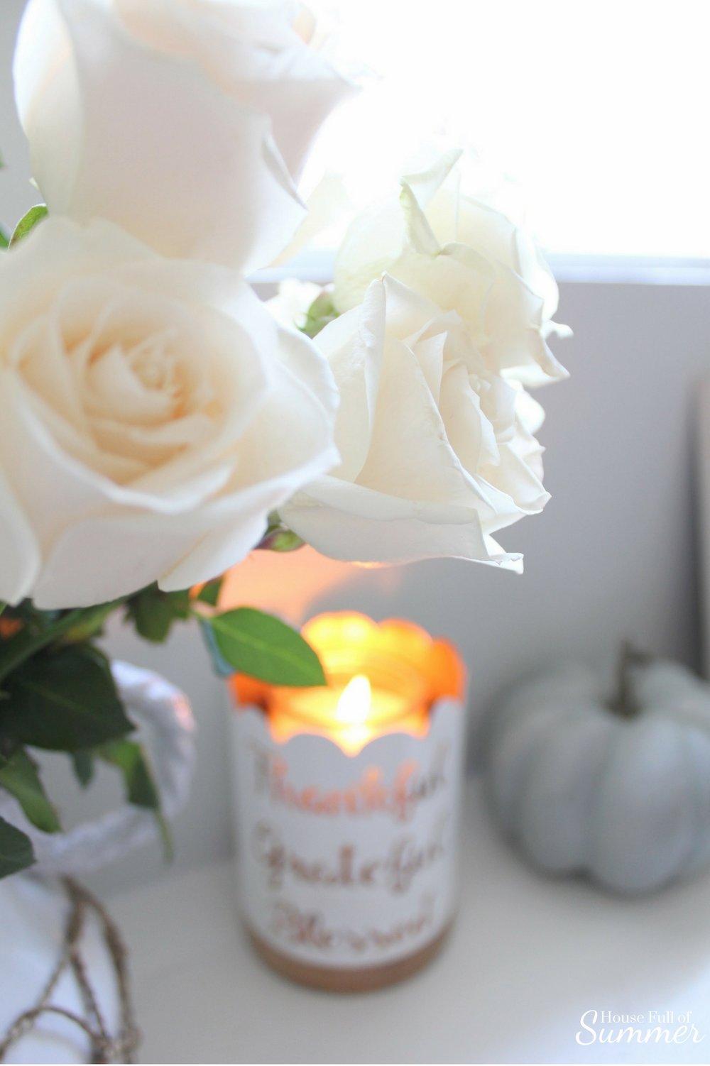 House Full of Summer - Fall Home Tour: Cozy Coastal Chic, Welcoming Fall Blog Hop