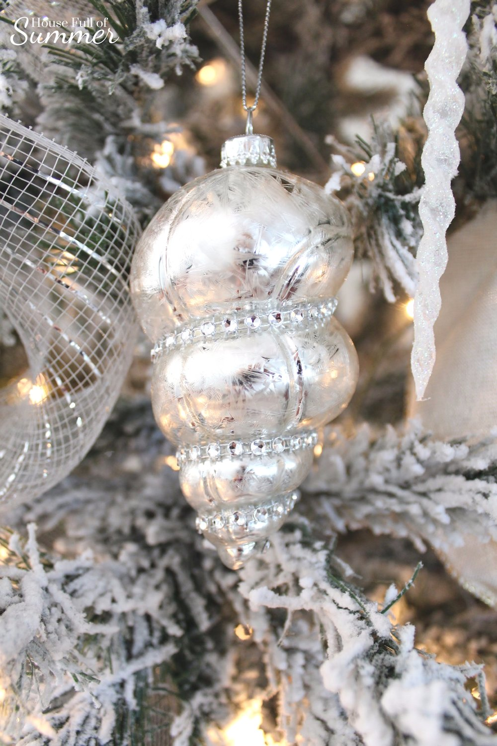 creating a glam coastal christmas with bealls florida house full of summer blog neutral - Coastal Christmas Decor