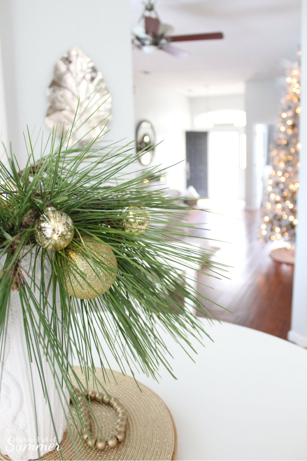 cheap classy christmas home tour part two house full of summer blog white with diy elegant christmas decorations with classy christmas decorations