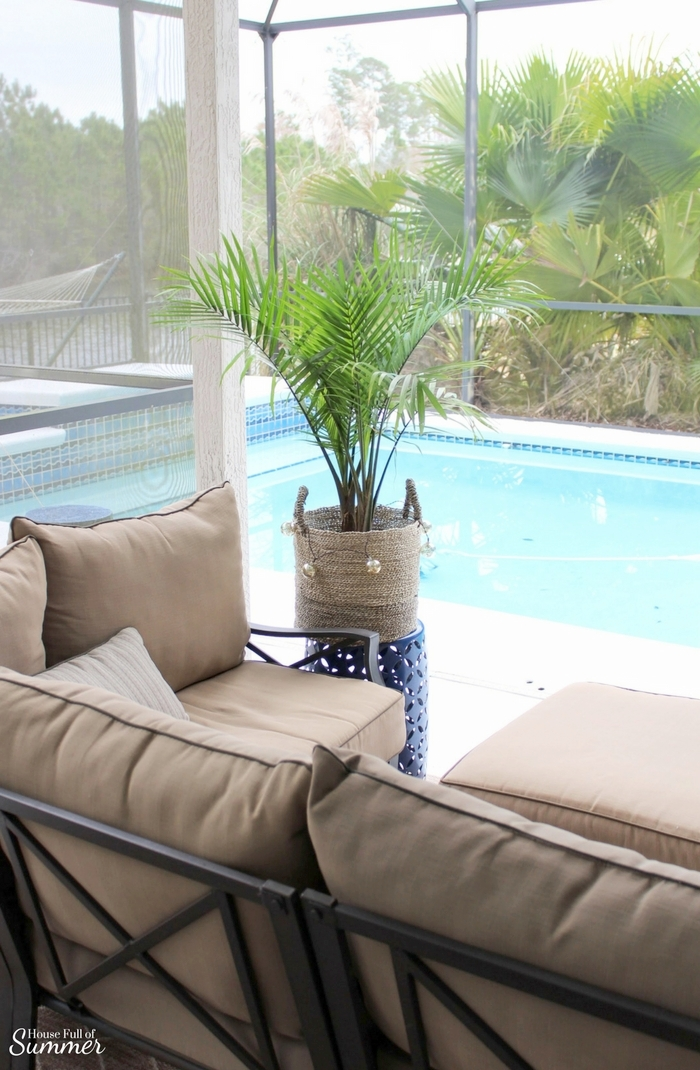 How to Care for an Indoor Majesty Palm | House Full of Summer - Palm Tree Care, how to grow an indoor palm, tropical plants, the best indoor tropical palms, florida plants, florida home, home interior, coastal living, coastal decor, tips for indoor palms
