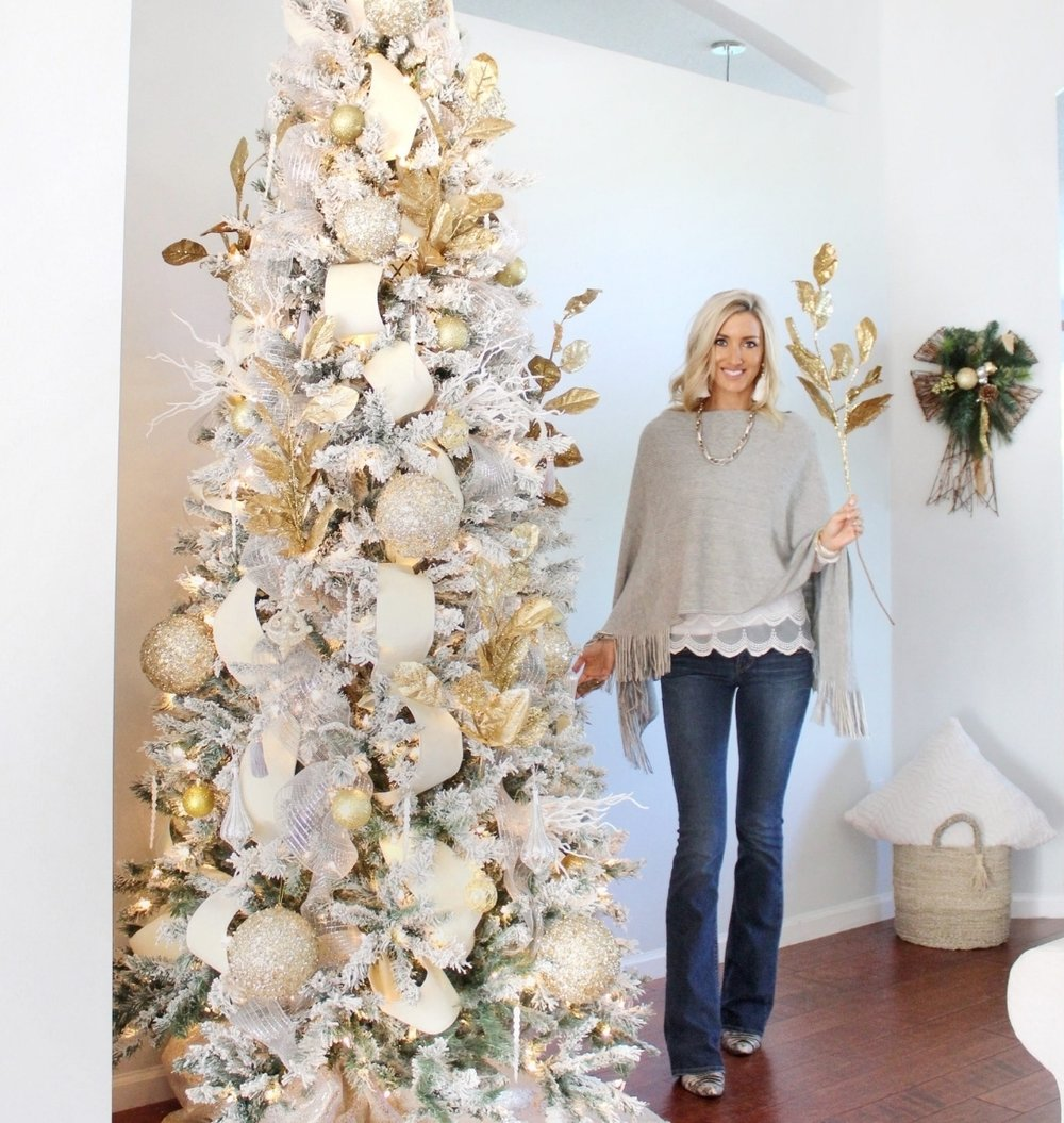 Florida Christmas Tree Ideas.Southern Glam Christmas Decor House Full Of Summer