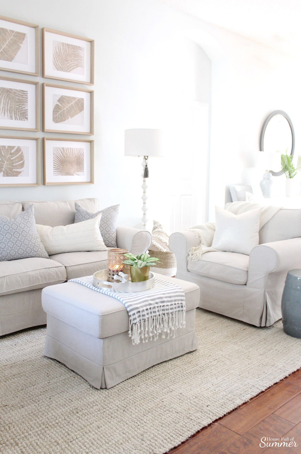 Styling My Coastal Living Room For Winter | House Full Of Summer   Coastal  Decor,