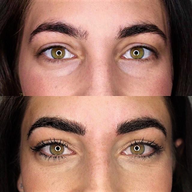 Microblading Eyebrow Tinting Semi Permanent Makeup Lash Lift