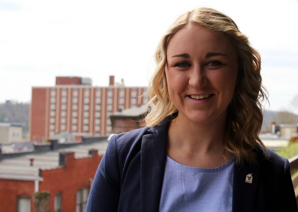 "Emily Simmons    Position:  VP of Planning   Contact:   es806714@ohio.edu    Major:  Accounting   Why She's FTK:  ""Being FTK helps me to be a part of something bigger than myself. RMH helps to keep these families close during some of their toughest days and being able to support their mission is such an incredible experience."""