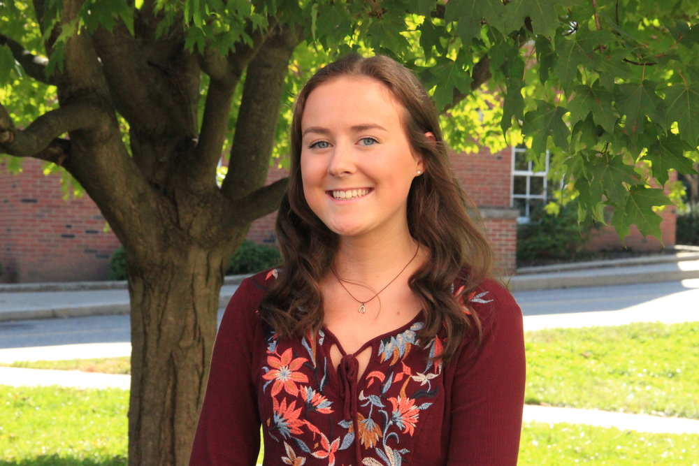 "Abby Waldron    Team:  Line Dance   Contact:   aw863615@ohio.edu    Major:  Exercise Physiology   Why She's FTK:  ""I am FTK because no one should have to go through hard times alone. I know what it is like to receive help from people and I am forever grateful!"""