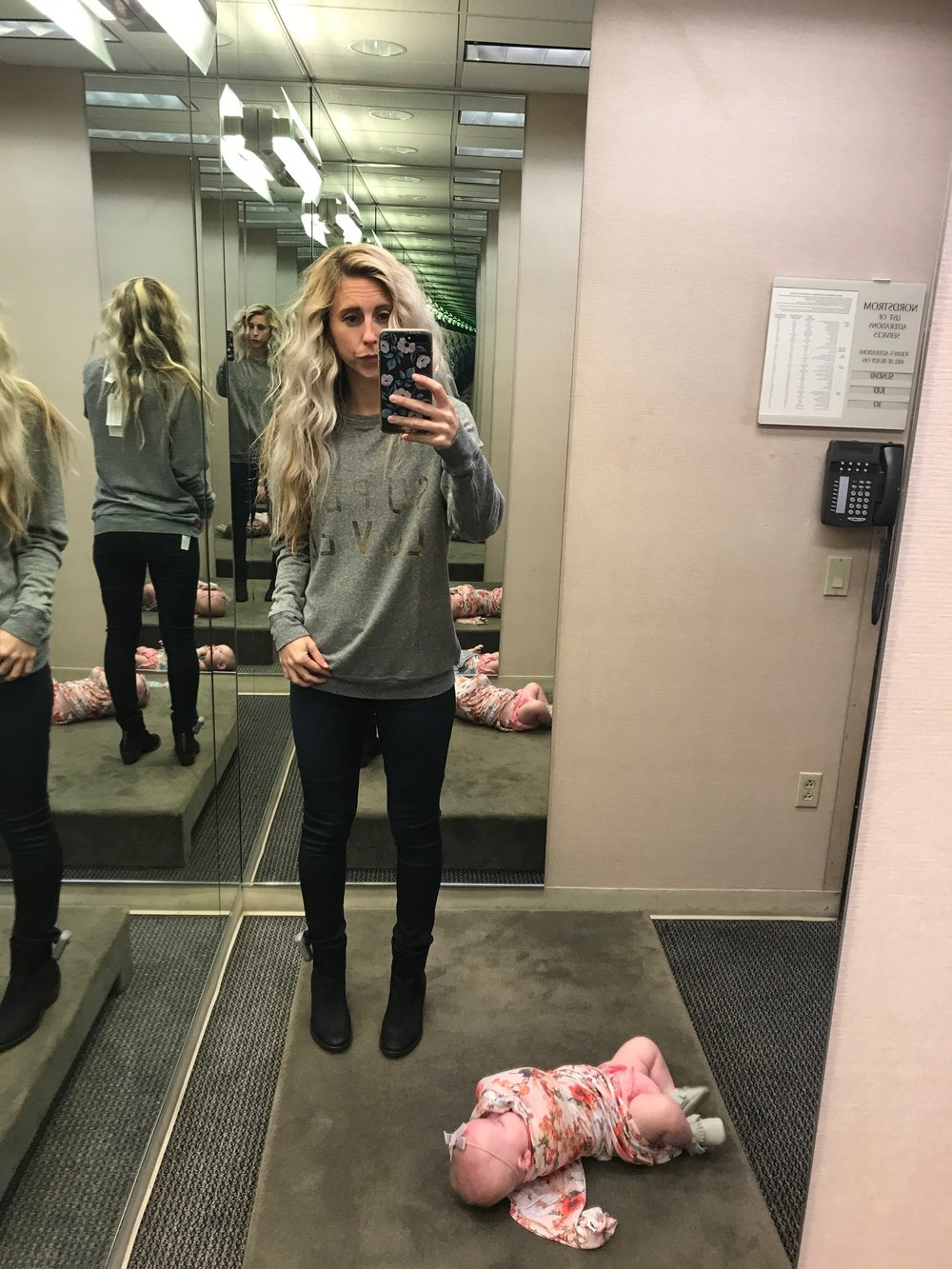 Dressing Room Diaries Part 2 by Las Vegas fashion blogger Life of a Sister