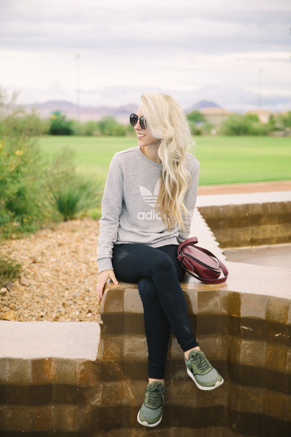 The Perfect Athletic Wear by Las Vegas fashion blogger Life of a Sister