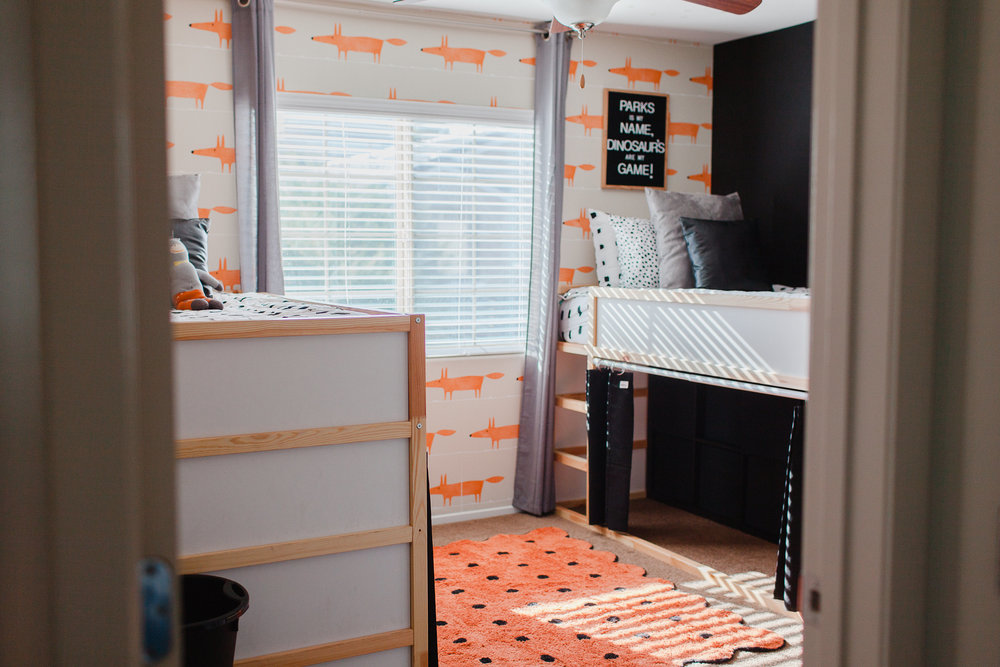 Boys Shared Bedroom Ideas by Las Vegas mom bloggers Life of a Sister