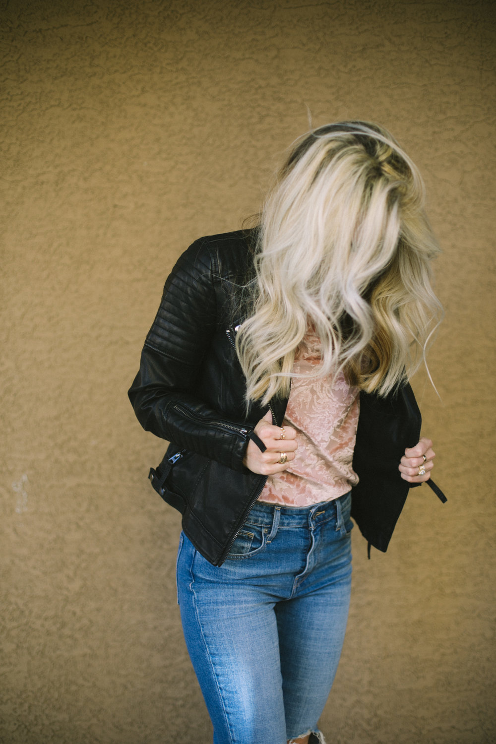 Best Leather Jackets under $100 by Las Vegas fashion blogger Life of A Sister