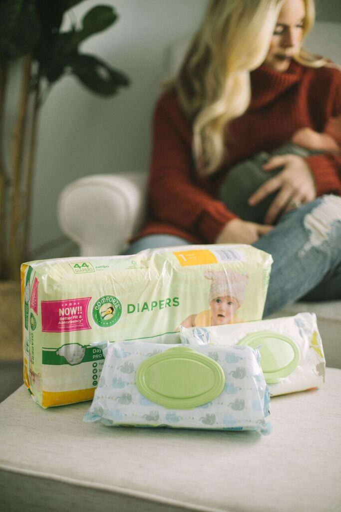 Comforts Diapers and Wipes by Las Vegas mom blogger Life of a Sister