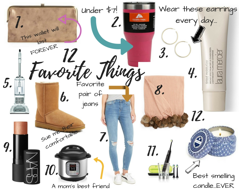 My 12 Favorite Things...Right Now by popular Las Vegas style bloggers Life of a Sister