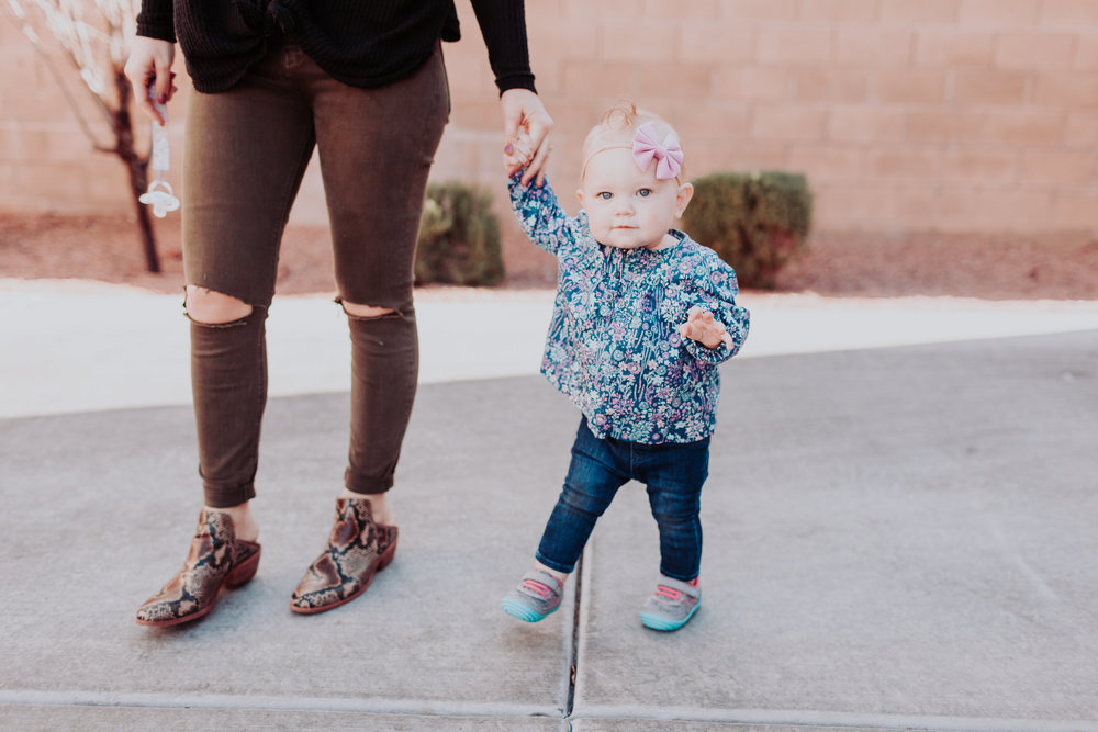 Surprize by Stride Rite at Target by popular Las Vegas style bloggers Life of a Sister