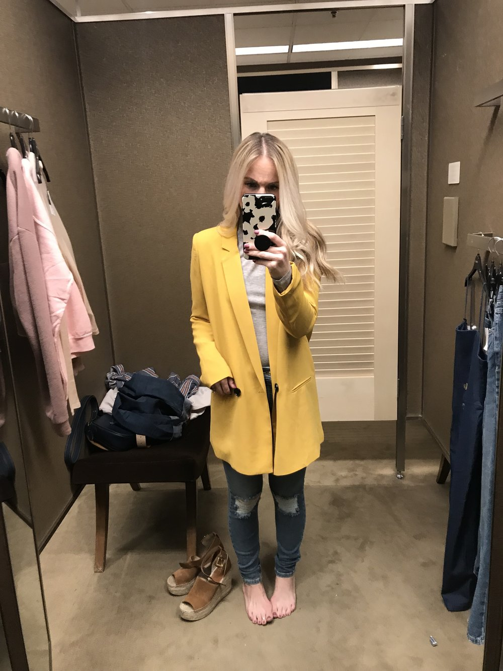 Spring Fashion Nordstrom Try on Sesh by popular Las Vegas style bloggers Life of a Sister