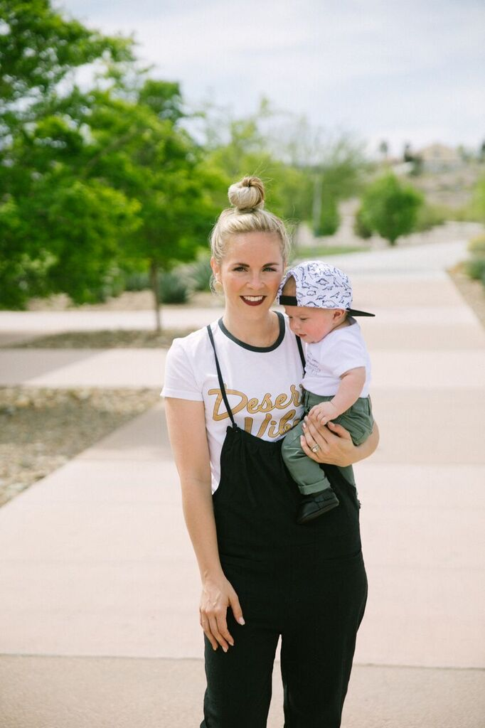 6 Month Old Baby Update by popular Las Vegas mom blogger, Life of a Sister