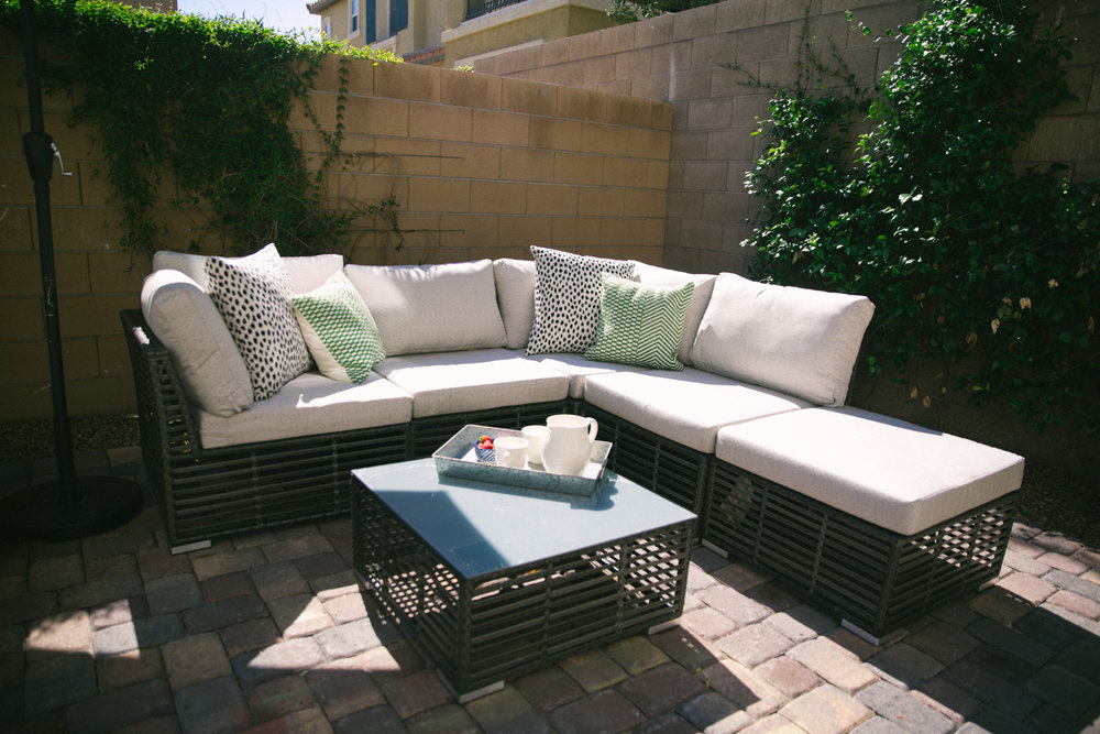 Outdoor Space ideas featured by popular Las Vegas life and style blogger, Life of a Sister