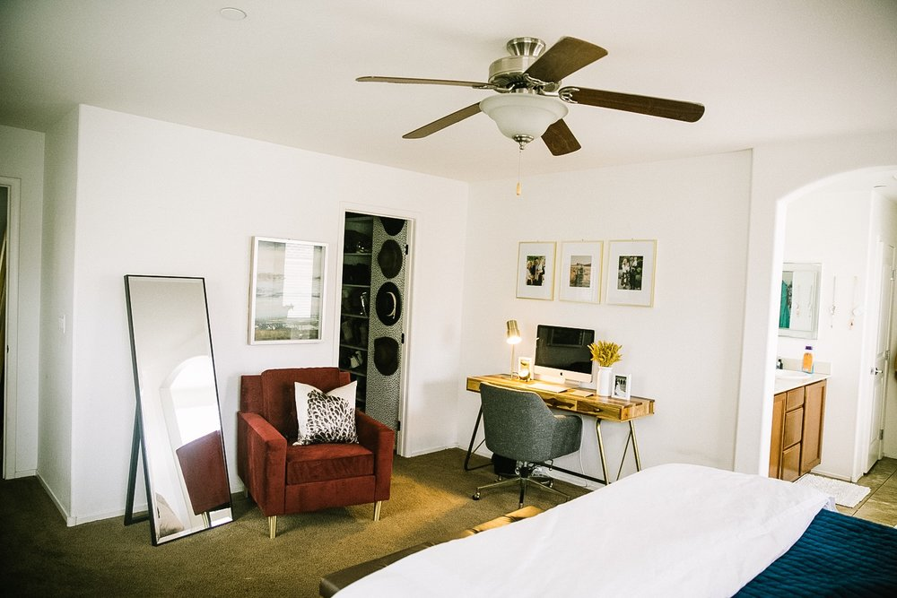 Master Bedroom Makeover with Bed Bath & Beyond featured by top Las Vegas lifestyle blog, Life of a Sister