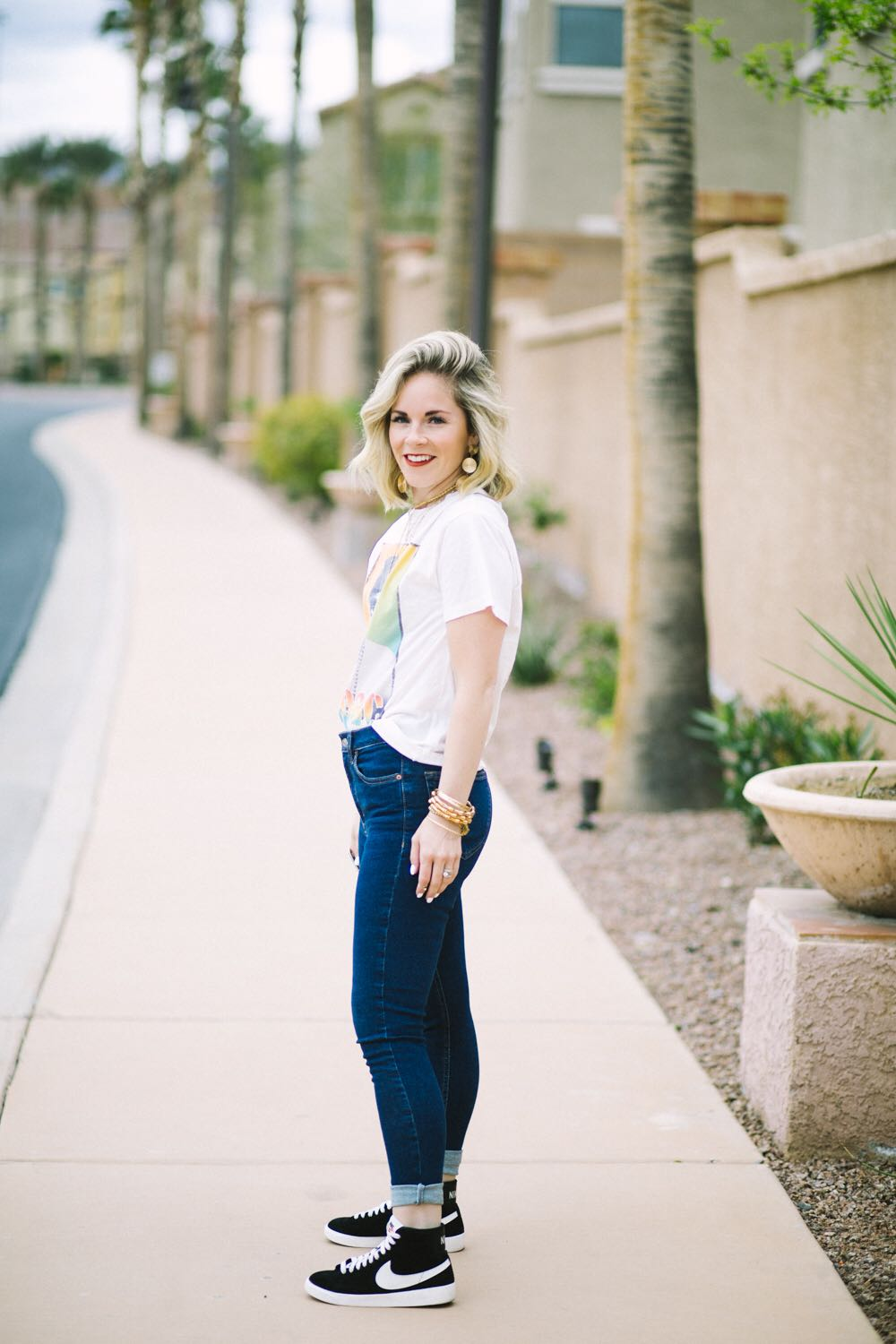 3 Cute Ways to Style Spring Sneakers featured by top US fashion blog, Life of a Sister