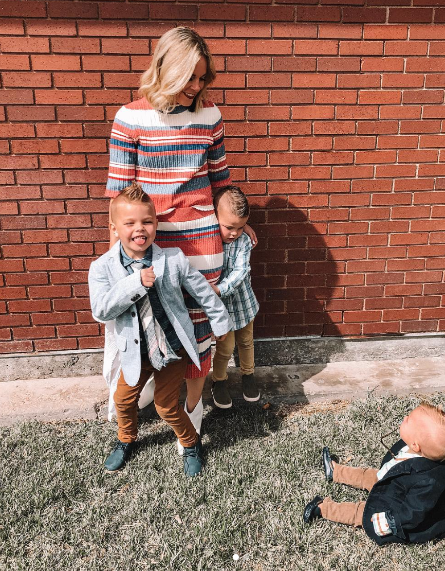 Spring Clothing for Boys featured by top US life and style blog, Life of a Sister