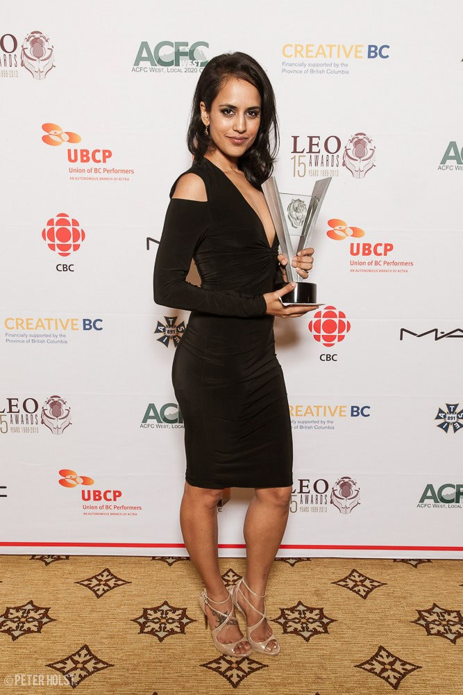 Winner of Best Supporting Actress in a feature film at the Leo Awards 2014.