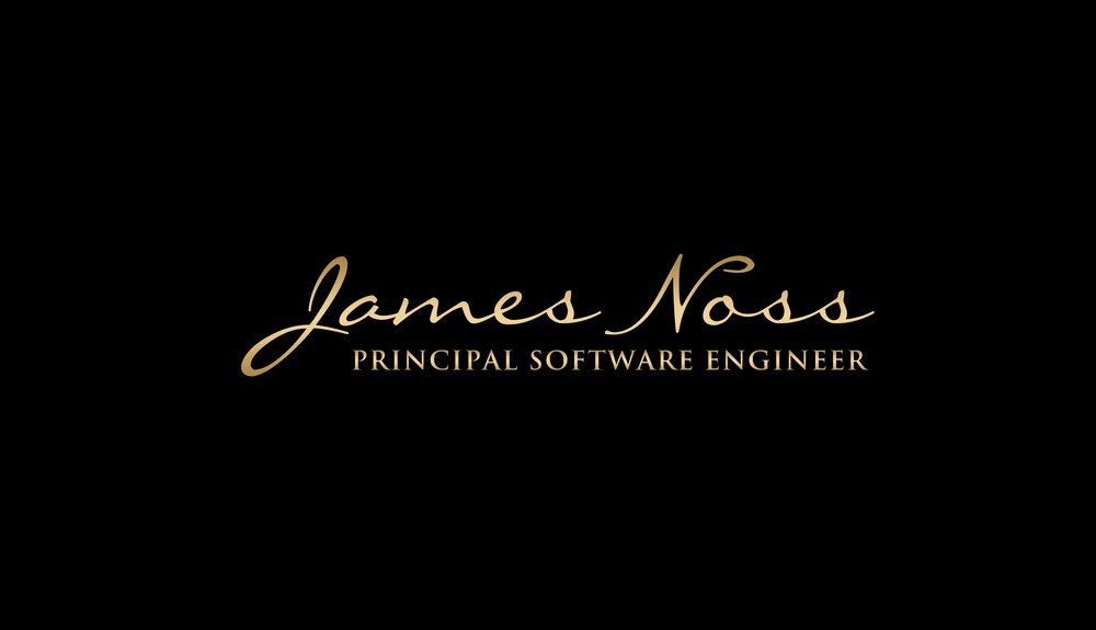 James Noss - Principal Senior Software Engineer