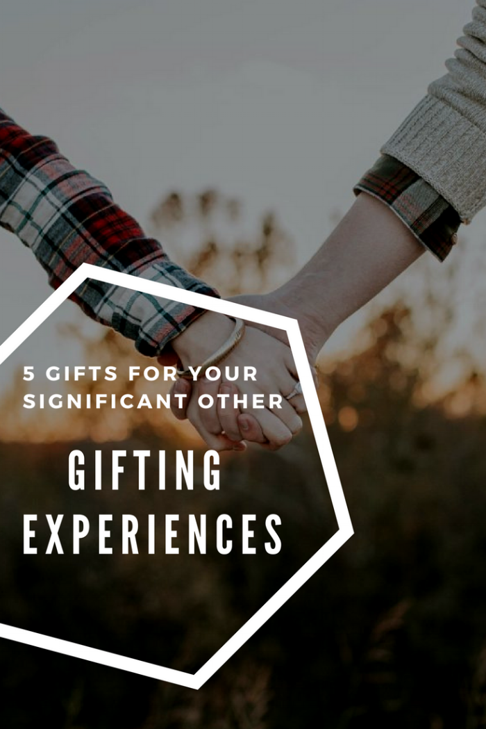 Instead of a typical gift, go on an adventure. Create memories and spice up your relationship.