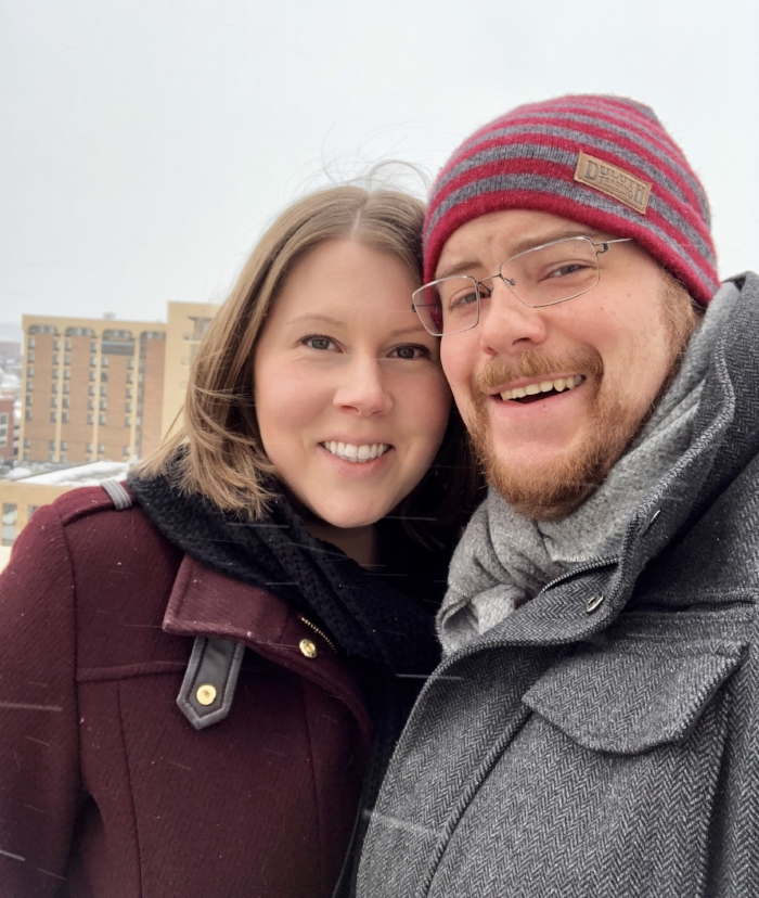 our most recent weekend getaway was to madison, WI. Despite the below zero temperature and snow, we were able to venture to the top of the capital building. When we walked back inside, we were greeted by a chior singing christmas carols that echoed beautifully throughout the entire building.