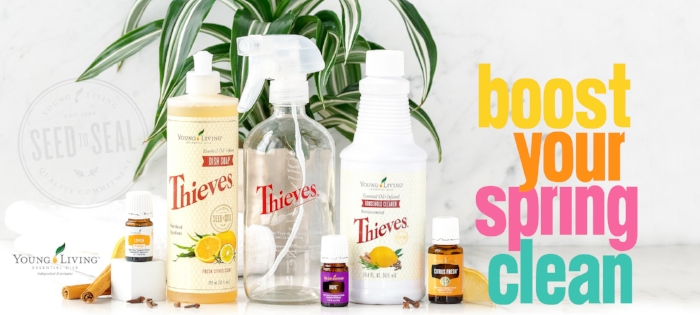 Take your spring cleaning to the next level with Young Living's March Essential Rewards Promotion