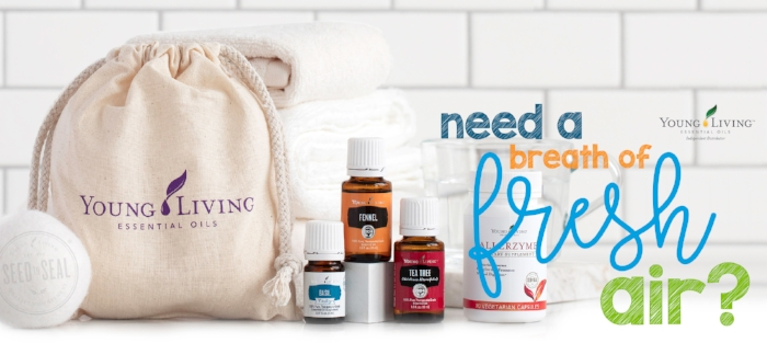 Freshen your home and routine with Young Living's April 2018 Essential Rewards Promotion