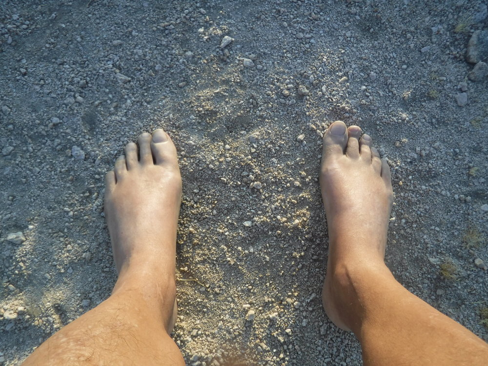 The feet have it!