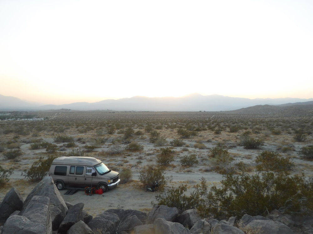 The official Disclosure-Mobile - its perfect for one or two on a camping trip, or extended camping trip, but beyond that upgrades would be in order...lol....its cool for a crazy man in the desert though...