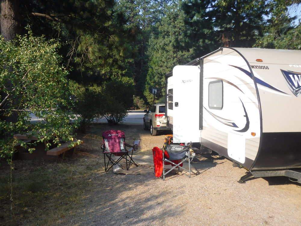 "This is the beautiful mobile home I was a guest of during my trek to Mount Shasta. It made the trip luxurious compared to ""Disclosure-mobile' standards. - :) Thank you A.M."