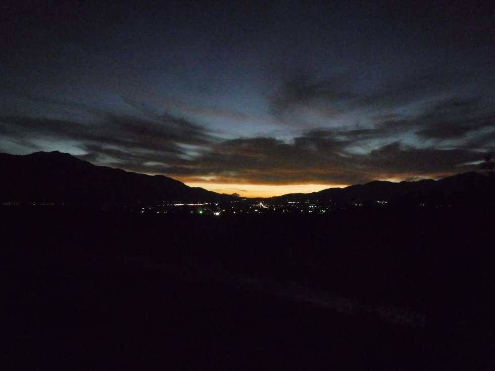 My beloved Desert Hot Springs skyline... - I am about a week out from re-joining the desert I miss so much. It is magical out here.